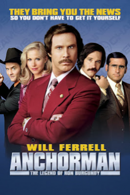 Film Komedi Anchorman: The Legend of Ron Burgundy
