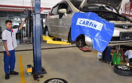 perbaikan mobil